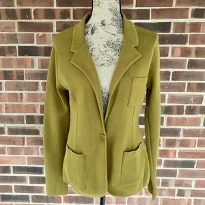 NWT Audrey & Grace bay leaf sweater blazer